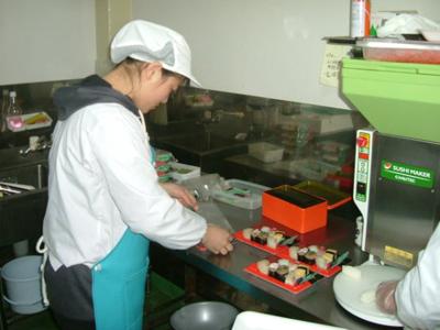 食品加工-鱼吉做寿司