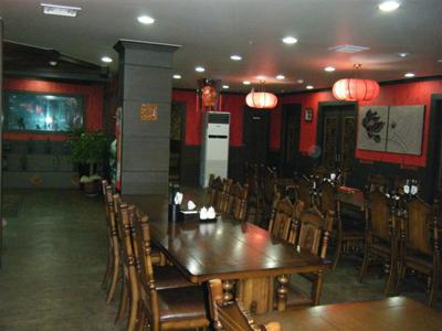 韩国饭店内景