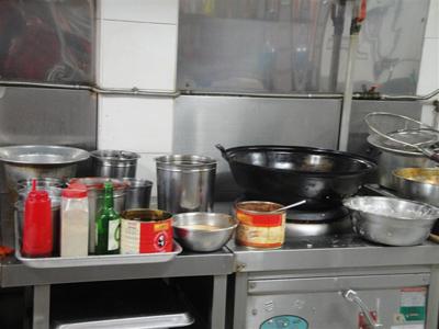 韩国饭店厨房